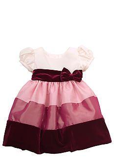 Rare Editions Color Block Dress