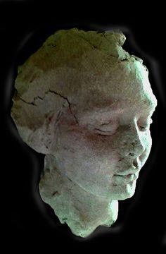 Sculpture portrait in stoneware  By Josefin Johansson