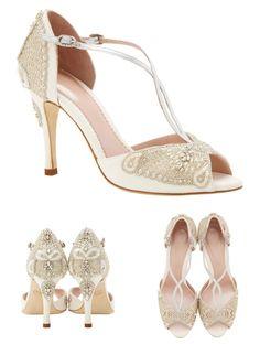 Emmy London 'Aurelia' Collection - Elegant Wedding Shoes Inspired By Sea Mythology | Love My Dress® UK Wedding Blog