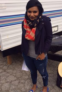 Mindy Kaling Cute Outfit Instagram – Cute Celebrity Style   OK! Magazine