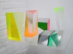 Phillip Low Milled Acrylic Sculptures