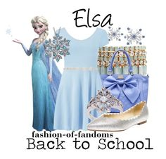 """""""Elsa"""" by fofandoms ❤ liked on Polyvore"""