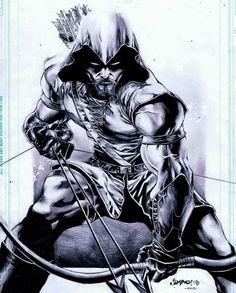 Green Arrow By Jimbo Salgado