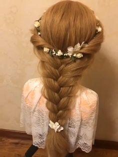 Hair Scarf Styles, Front Hair Styles, Medium Hair Styles, Bun Hairstyles For Long Hair, Pretty Hairstyles, Braided Hairstyles, Natural Hairstyles, Hair Style Vedio, Hair Upstyles