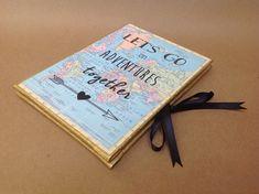 Aventura libro regalo novio regalo de por FreeRangeBookbinding