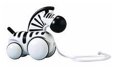 PlanToys Pull-Along Zebra - Free Shipping $23