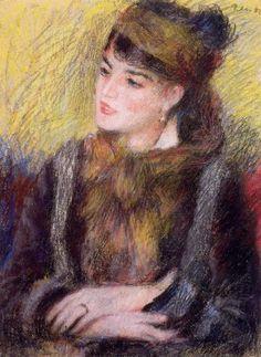 Pierre-Auguste Renoir, Study of a Woman