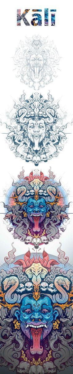 Kali on Behance