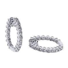 Diamant Ohrringe aus 585er Weißgold mit 2.00 Karat Diamanten - http://www.juwelierhausabt.de/products/de/Diamant-Ohrringe/Diamant-Ohrringe/Diamant-Ohrringe-aus-585er-Weissgold-mit-200-Karat-Diamanten2.html