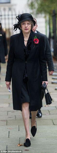 Home Secretary Theresa May...