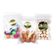Never run out of ammo with this sampler set of each of the balls available from Hella Slingshot.