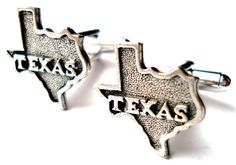 Texas Cufflinks Pair On Sale Now Gift Box Included by Mancornas, $19.95