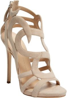 Giuseppe Zanotti Women's Strappy Leather High Heel Sandal