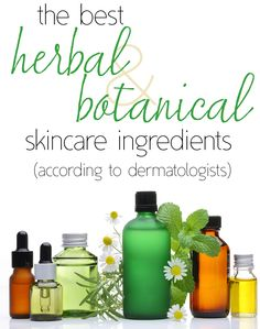 Which herbal and botanical #skincare ingredients are actually worth their hype?
