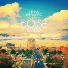 For my Corporate Branding class, doing some advertising for Boise! :)