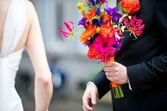 Dots  Stripes  Colorful Wedding Photography - Pinterested @ http://wedspiration.com.