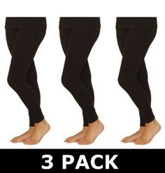 OCTAVE Ski Thermals : 3 PACK Ladies Thermal Underwear Long Jane / Long John (WMS, Pure Black) Octave Ski Thermal Underwear. $35.90