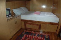 Üçağız Kekova. Costa Licia in Turchia - cabine