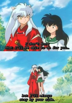 It's a shame that no one ever cares about Inuyasha anymore. This was my first anime I ever watched (once I knew what anime was). I really miss it. Inuyasha and Kagome forever!  :(