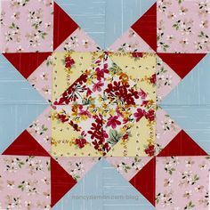 January Block Of The Month Star Of Hope Block Of The Month Mystery Quilt Patterns Sewing With Nancy