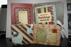 tutorial and video to turn a file folder into a beautiful accordion file folder.