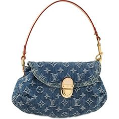 Louis Vuitton Denim Canvas Pleaty Shoulder Bag. Get one of the hottest styles of the season! The Louis Vuitton Denim Canvas Pleaty Shoulder Bag is a top 10 member favorite on Tradesy. Save on yours before they're sold out!