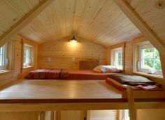 Ynez Tiny House - Loft.. Ynez Tiny House by The Oregon Cottage Company