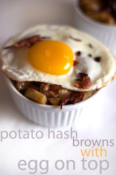 Maple Bacon Hash Browns with Fried Egg recipe on FamilyFreshCooking.com