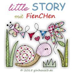 Stickdatei * little STORY mit FienCHen * 5 Größen