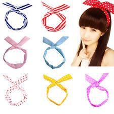 Cute Sweet Korea Korean Girl Bunny Ear Headband Rabbit Ear Hair Band 14 Colors
