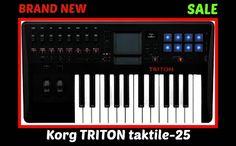 Korg TRITON Taktile 25 Key USB/MIDI Keyboard Controller BRAND NEW $200 ITEM #Korg
