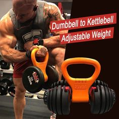 Convert Your Dumbell to Kettlebell with this NEW High Quality Kettlebell Handle. Only Kettlebell Handle does not include the dumbbell. Weight per Kettlebell: kg). Gym Equipment Names, Home Gym Equipment, No Equipment Workout, Workout Gear, Gym Workouts, Workout Gloves, Sports Equipment, Kettlebell Weights, Weight Lifting Workouts