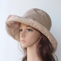 10.98 Chic Solid Color Ruched Bucket Hat For Women Vintage Winter 7a21cd738a29