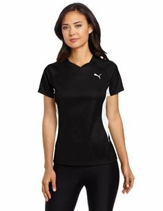 Amazon.com: Puma Women's TB Running Short Sleeve Tee: Sports & Outdoors