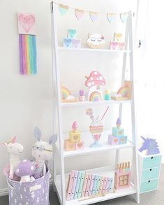Morning Insta friends & happy Friday to you all! Can't believe my baby is 4 weeks old already today. Baby Bedroom, Baby Room Decor, Girls Bedroom, Pastel Room Decor, Bedroom Ideas, Room Baby, Nursery Decor, Pastel Girls Room, Bunk Bed With Desk
