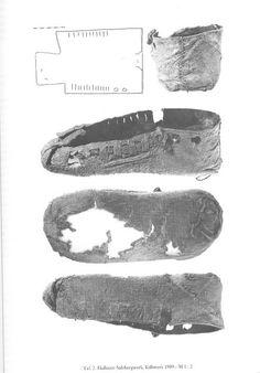 Shoe, Hallstatt salt mine, Hallstatt culture, VII-V BC
