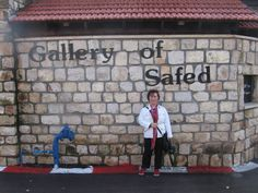 Safed is also known as a city of art. Many creative souls are attracted to and inspired by the winding, narrow, cobblestone streets of Safed's Old City, home to a bustling artists' quarter, and feel at one with their creativity in the crisp mountain air of this city in the sky.   Source: http://www.safed.co.il/galleries-artists.html