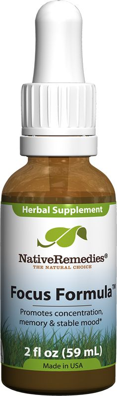 Focus Formula� - Natural ADHD Remedy to Help Concentration