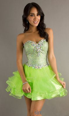 tropical swirl neon prom dress  Dresses  Pinterest  Neon Prom ...