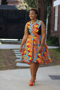 Sepedi Traditional Dresses, Traditional African Clothing, African Lace Dresses, African Fashion Dresses, African Print Fashion, Africa Fashion, African Attire, African Wear, Afro