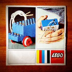 Vintage Lego Brochure.