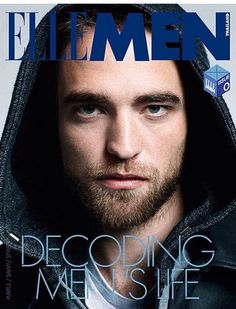 Robert Pattinson está na capa da edição de outubro da ELLE Men da Tailândia.