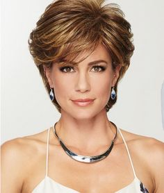 Gratitude by Eva Gabor Wigs - Heat Friendly Synthetic Wig Short Shag Hairstyles, Bob Hairstyles For Fine Hair, Haircut For Thick Hair, Short Hairstyles For Women, Wig Hairstyles, Double Chin Hairstyles, Easy Short Haircuts, Layered Haircuts For Women, Over 60 Hairstyles