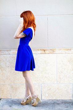 Vestido Deedee azul · PepaLoves