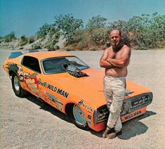 Willie Borsch Revelle's Wild Man funny car