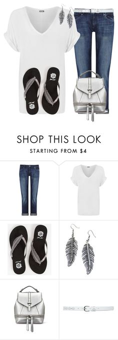 """""""The Minimalist"""" by deborah-calton ❤ liked on Polyvore featuring DL1961 Premium Denim, WearAll, Yellow Box, Child Of Wild and M&Co"""