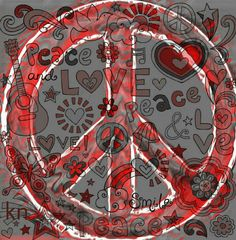 Peace Sign ✌  __[Peace sign Art by KN]