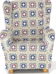 Granny Square Sofa Cozy