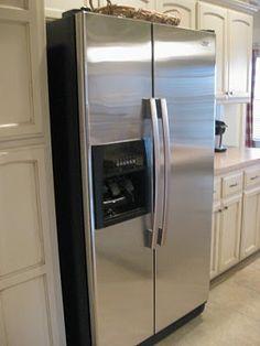 Broom Closet By Refrigerator