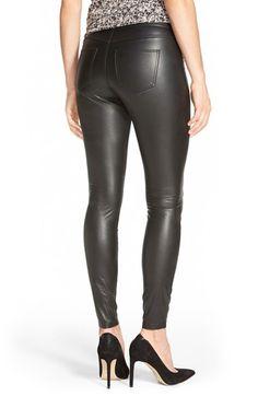 Hue Faux Leather Leggings   Nordstrom